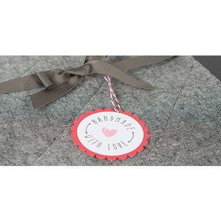 Matière tampon pour la machine Mint - 3 x 3 cm