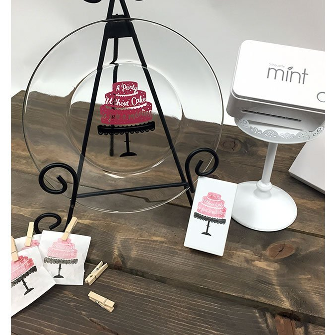 Encre pour tampon Mint - rouge - 5 ml