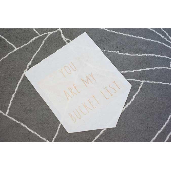 Transfert à chaud Glitter - blanc argenté - 30,5 cm x 0,9 m