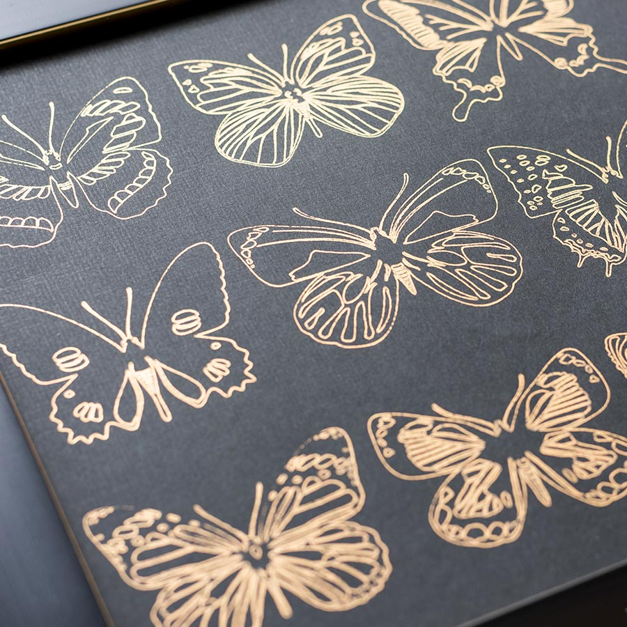 Assortiment #1 de 30 feuilles de Foil - 10 x 15 cm
