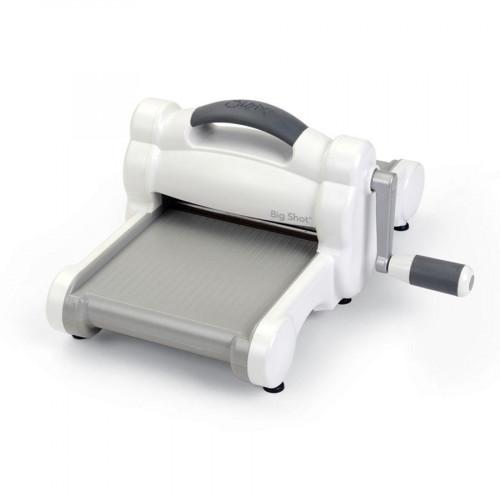 Machine de découpe Big Shot blanche et grise