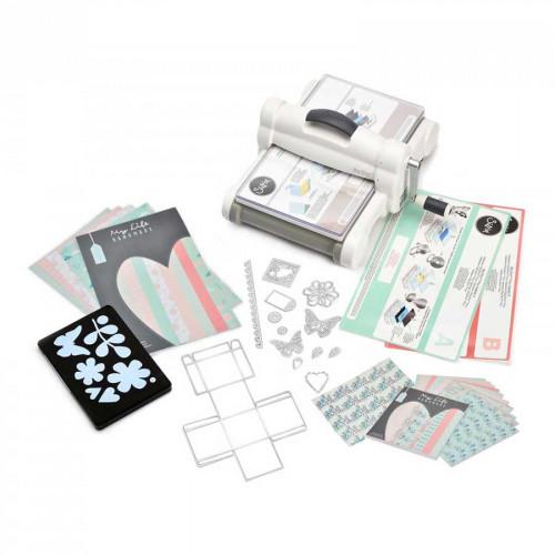 Big Shot Plus Kit de démarrage scrapbooking machine de découpe et gaufrage