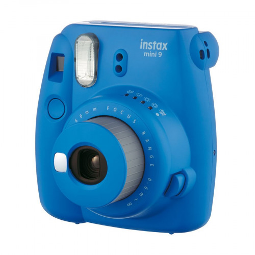 Appareil photo instantanée Instax Mini 9 - bleu cobalt