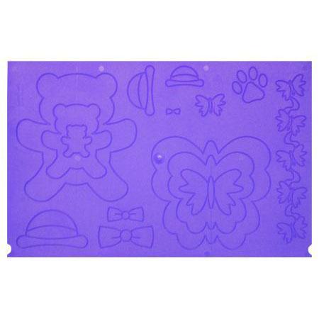 Ultimate Pro - Plaque complémentaire papillons, ours, et étiquettes