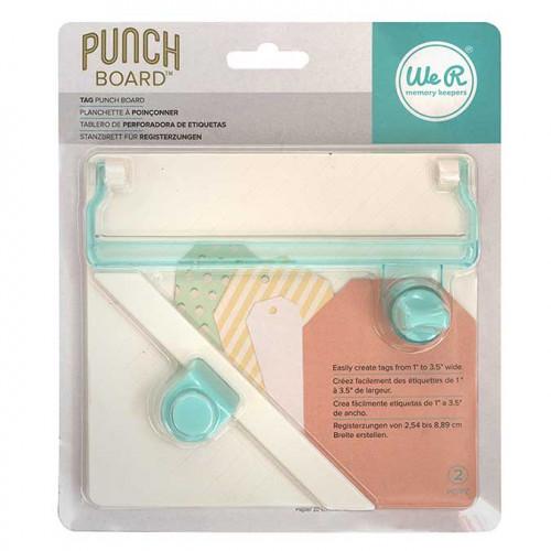 Tag Punch Board : réalisation d'étiquettes