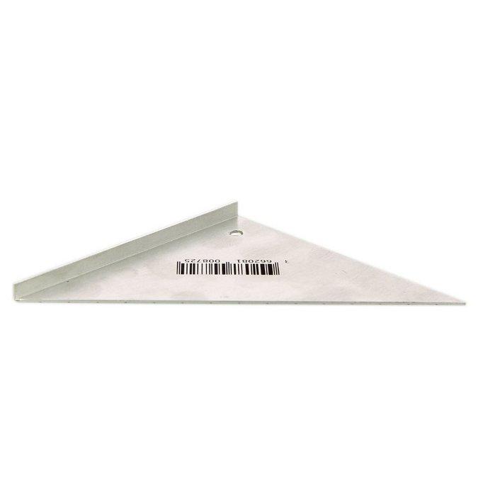 Gabarit d'angle en métal - 11 cm