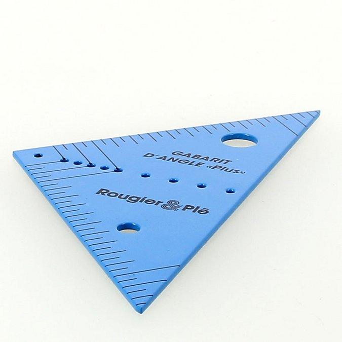 Gabarit d'angle Plus en métal - 12 cm