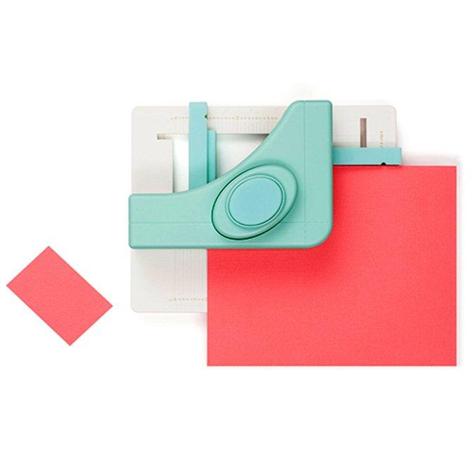 Square Punch Board : réalisation de carrés et rectangles en papier