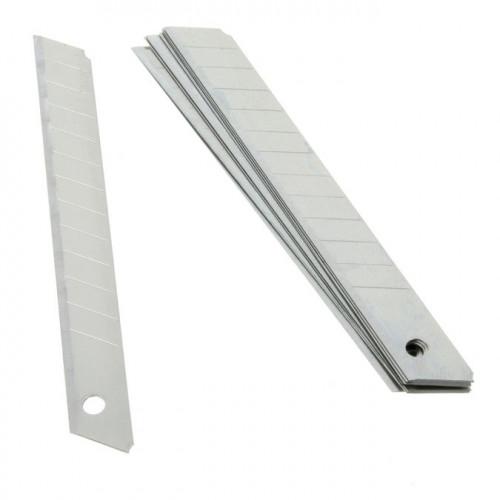Lames de rechange universelles pour cutter - 9 mm - 10 pièces