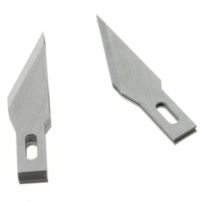 Lames de rechange pour couteau de précision - 10 pièces