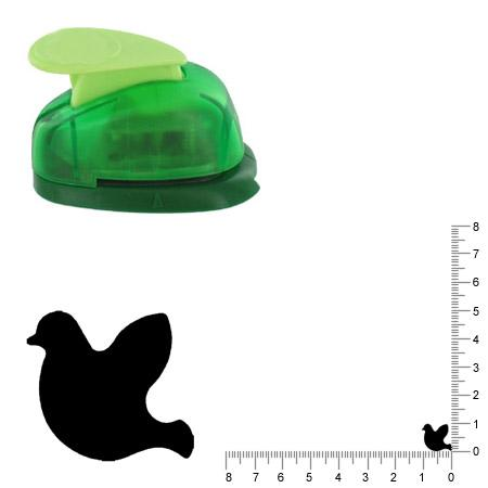 Petite perforatrice - Colombe - Env 1 cm