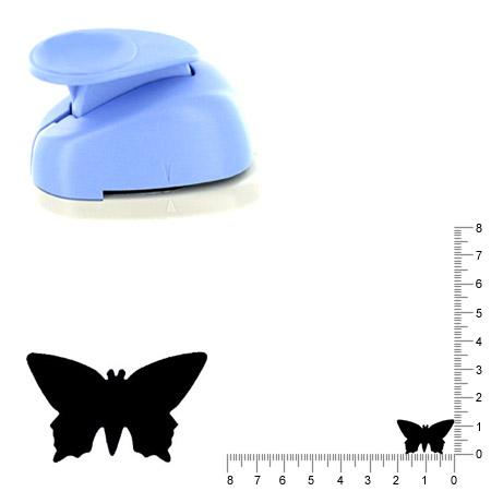 Moyenne perforatrice - Papillon 3 - 2 cm