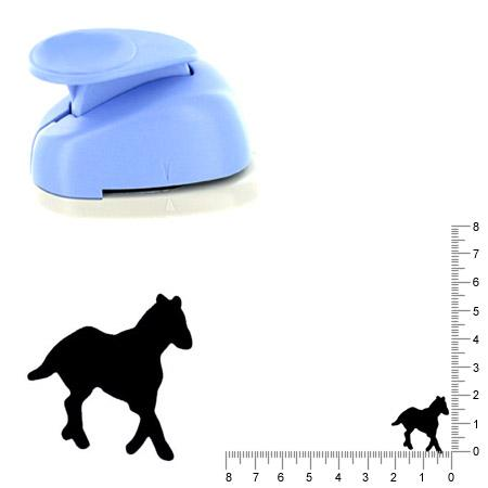 Moyenne perforatrice - Cheval - 2 cm