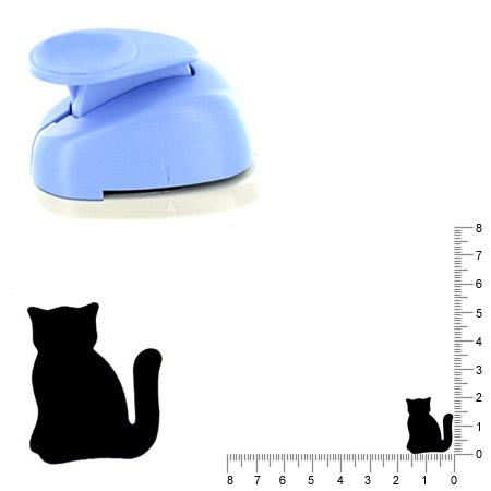 Moyenne perforatrice - Chat 3 - 2 cm
