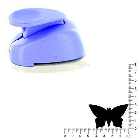 Géante perforatrice - Papillon - Env 4.5 cm