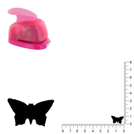 Mini perforatrice - Papillon - 1 cm