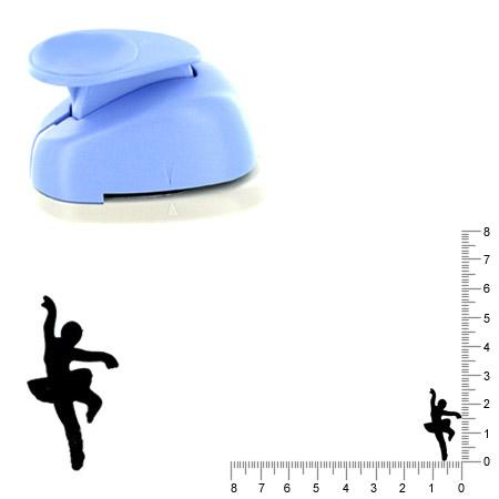 Moyenne perforatrice - Ballerine - 2.5 cm