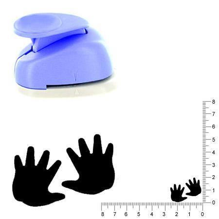 Moyenne perforatrice - 2 Mains - Env 2 cm