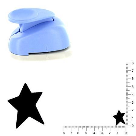 Moyenne perforatrice - Etoile folk - 2 cm