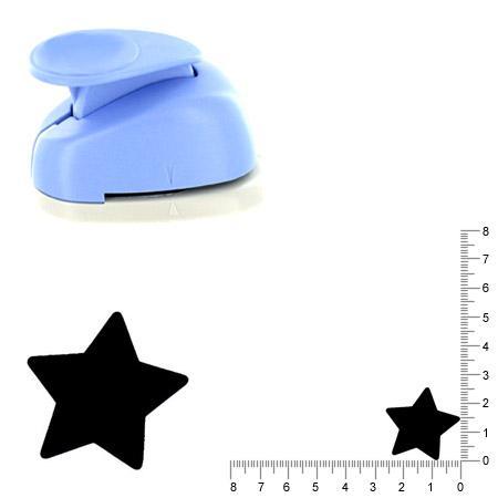 Moyenne perforatrice - Etoile - 2.5 cm