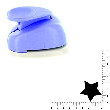 Géante perforatrice - Etoile - Env 4 cm