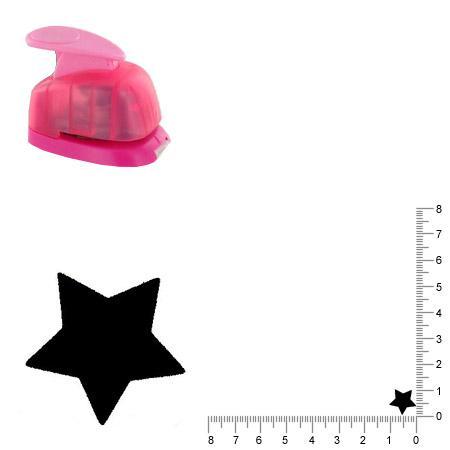 Mini perforatrice - Etoile - 1 cm