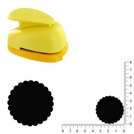Grande perforatrice - Cercle ondulé - 3.5 cm