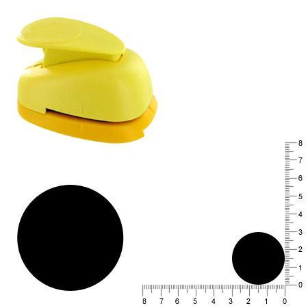 Grande perforatrice - Cercle - 2,85 cm
