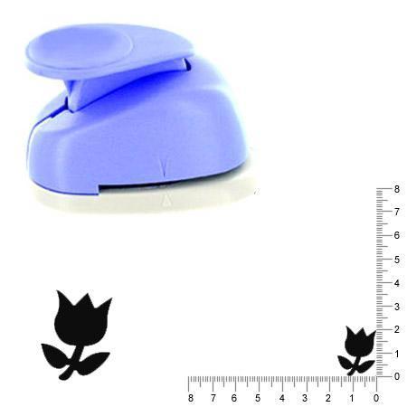 Grande perforatrice - Tulip 2 - 2 x 2,3 cm