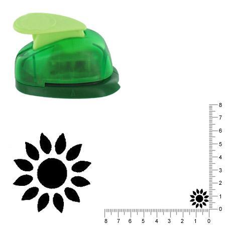 Petite perforatrice - Tournesol - Env 1.5 cm