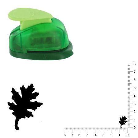 Petite perforatrice - Feuille de chêne - Env 1.5 cm