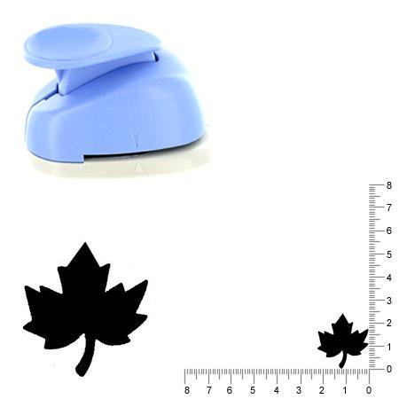 Moyenne perforatrice - Feuille d'érable - 2.6 cm
