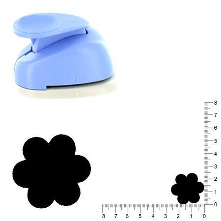 Moyenne perforatrice - Fleur 3 - 2.5 cm