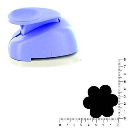 Géante perforatrice - Fleur - Env 4.5 cm