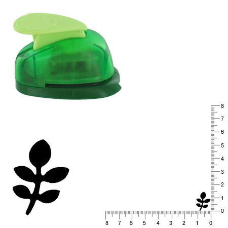 Petite perforatrice - Feuille - Env 1.5 cm