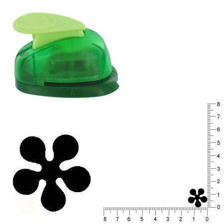 Petite perforatrice - Fleur - Env 1.5 cm