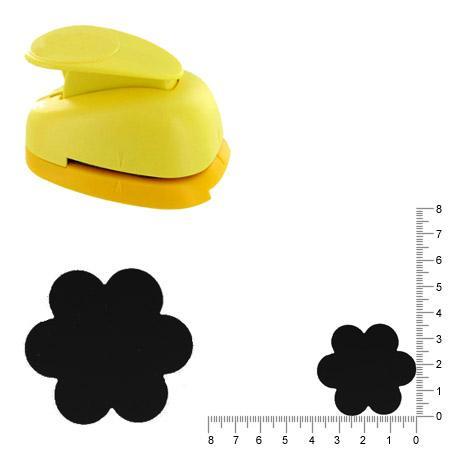Grande perforatrice - Fleur - 3.5 cm