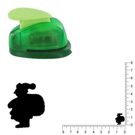 Petite perforatrice  - Père Noël - Env 1.5 cm