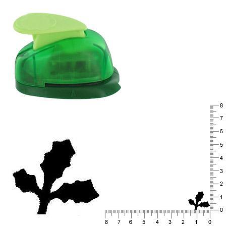Petite perforatrice - Houx - Env 1.5 cm