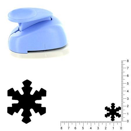 Moyenne perforatrice - Flocon de neige 1 - 2.5 cm