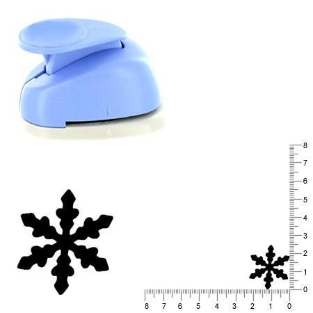 Moyenne perforatrice - Flocon de neige 5 - 2.5 cm