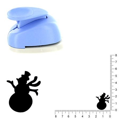 Moyenne perforatrice - Bonhomme de neige - 2.5 cm