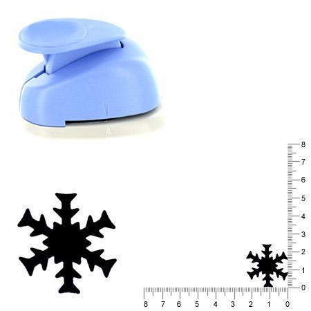 Moyenne perforatrice - Flocon de neige 2 - 2.5 cm