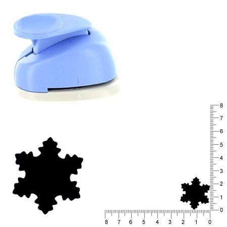 Moyenne perforatrice - Flocon de neige - 2.5 cm