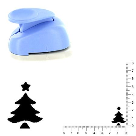 Moyenne perforatrice - Sapin 6 - 2.5 cm