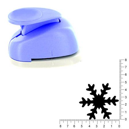 Geante perforatrice - Flocon de neige 3 - Env 4.7 cm