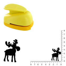 Grande perforatrice - Renne 2 - 3.5 cm