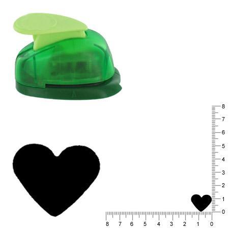 Petite perforatrice - Coeur 1 - Env 1.2 cm