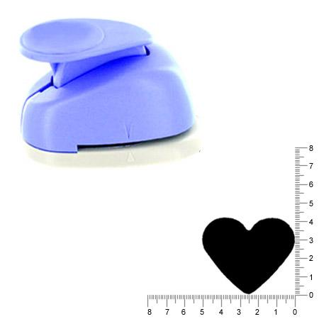Géante perforatrice - Coeur - Env 4 cm