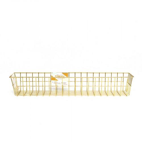 Wire System - Panier de rangement - 43,2 x 8,3 x 7 cm